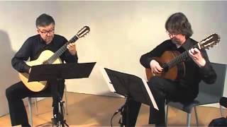 BACH GUITAR DUO Bach, Concerto Italiano (Italian Concert) BWV 971 - 3. Presto