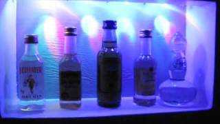 Airplane Bottle Liquor Cabinet, With Lights!