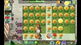 plants vs zombies 2 sunflower rebel