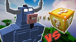 EL TORO  VS. LUCKY BLOCK (IRON WILL MINECRAFT LUCKY BLOCK CHALLENGE)