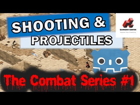 How to Shoot in Godot 2d Tutorial | The Combat Series #1 thumbnail