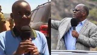 Mwanafunzi Aliyemkuna JPM, Awachangisha Mawaziri MIL 24