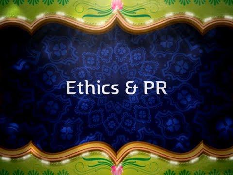 Ethics & Public Relations