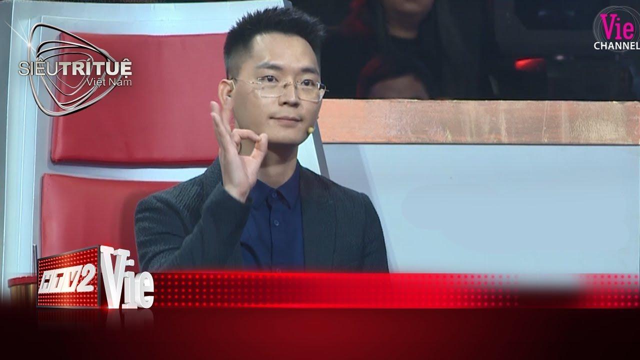 image Thấu tình đạt lý, thần thái ngút ngàn, Vương Phong khiến vạn người hâm mộI#12 SIÊU TRÍ TUỆ VIỆT NAM