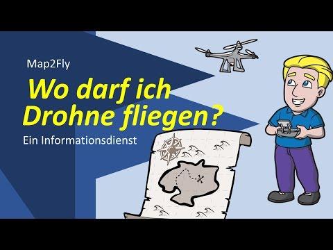 Wo darf ich mit der Drohne fliegen Map2Fly der Firma Flynex -  Kurzvorstellung