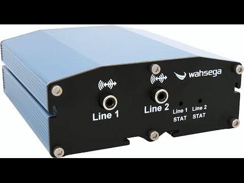 Getting Started with the 2-Channel Wahsega Labs IP Audio Encoder/Decoder