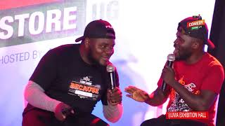 Alex Muhangi Comedy Store April2018 - Madrat & Chiko Fresh Touch