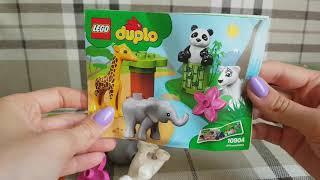 Новинка! Конструктор  lego duplo . Детишки животных.  Обзор
