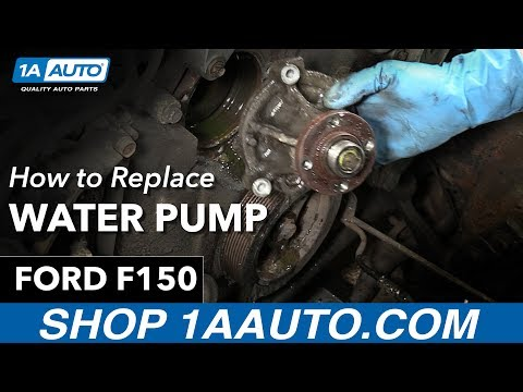How To Replace Water Pump 97-04 Ford F150