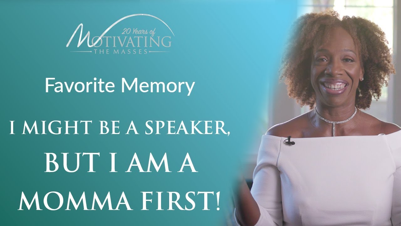 I Might be a Speaker, But I Am a Momma First! - Lisa Nichols
