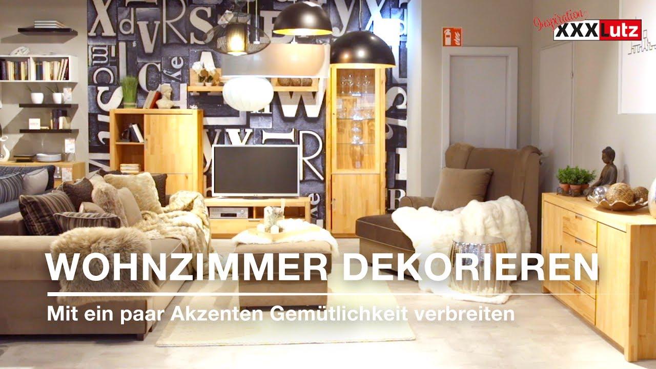 Diy Dekoration Gemutliches Wohnzimmer Xxxlutz Youtube