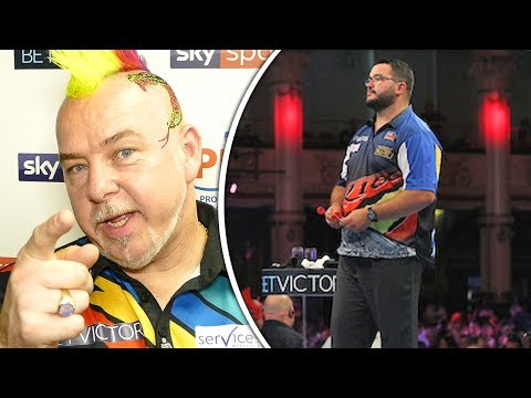 Peter Wright | A Happy Snakebite After his Victory Over Cristo Reyes