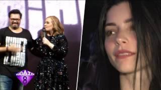 Ünlü Rock'cı Şebnem Ferah Harbiye Konserinde Seyircileri Mest Etti