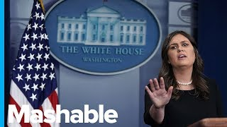 Sarah Huckabee Sanders' Most Ludicrous Moments as Press Secretary
