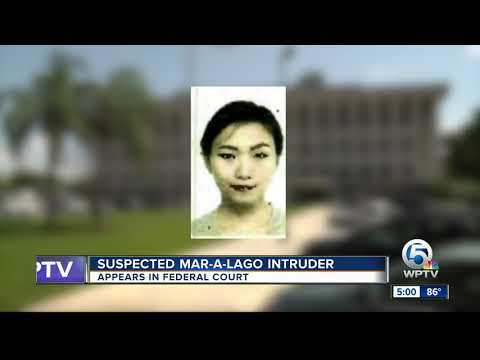 Yujing Zhang, suspected Mar-a-Lago intruder, appears in federal court