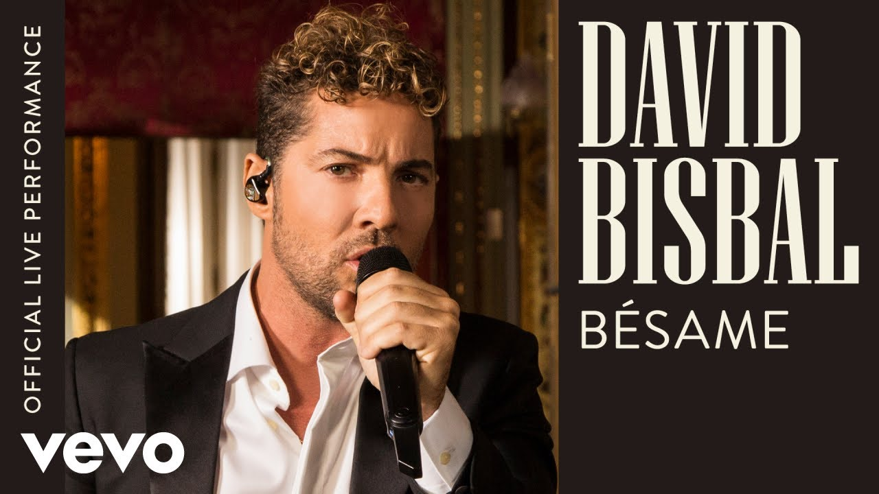 David Bisbal - Bésame - Official Live Performance | Vevo