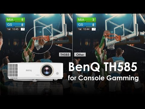 BenQ TH585 1080P Low Latency Console Gaming Projector
