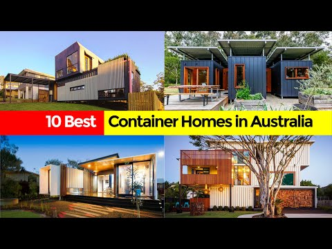 10 Amazing Australian Homes made from Shipping Containers