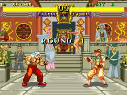Fighter's History [Arcade] - play as Karnov