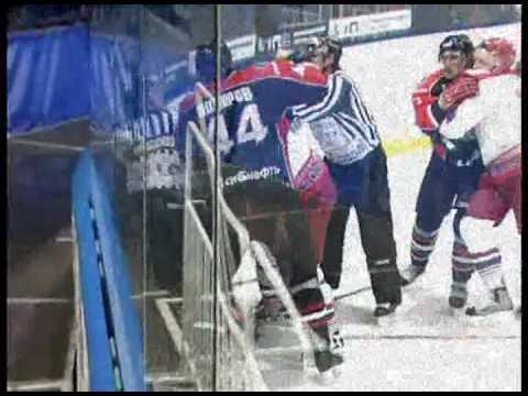 Lokomotiv - Avangard (Fights) Brawl