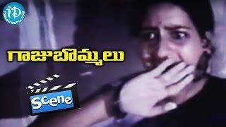 Gaaju Bommalu Movie Scenes - Villagers Fighting With Goons    Gummadi    Sarath Babu