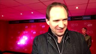 Legendary Actor Ralph Fiennes Is In Dublin To Receive A Volta Award 2019 March 1st