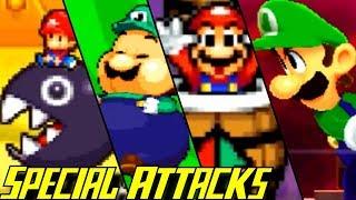 Evolution of Special Attacks in Mario & Luigi Games