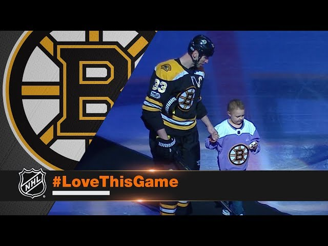 Bruins honor Layla Flint on 'Hockey Fights Cancer Night'
