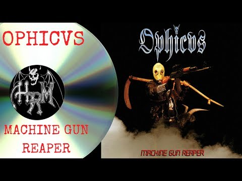 Black Rock N Roll: Machine Gun Reaper by Ophicvs