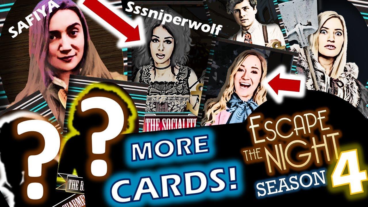 Season 4 Fans' Choice Cast   Escape The Night