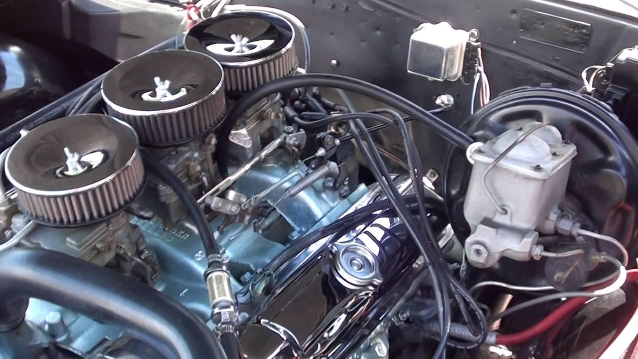 1966 Pontiac Gto 3890000 Youtube 1965 Phs Documented 4 Speed Tri Power 389 Red Black