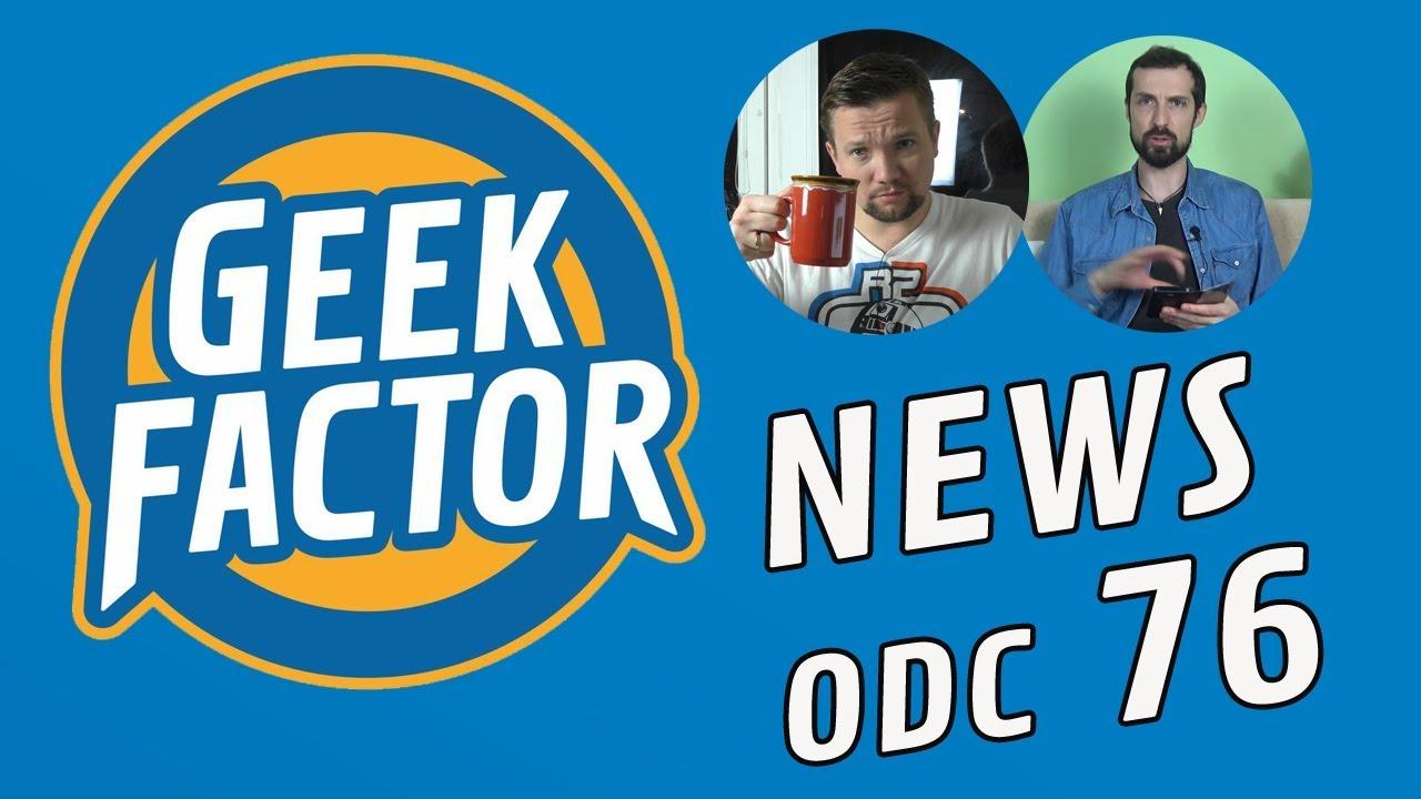 Geek Factor News 76 – Krokodyl Dundee, Tomb Raider  i Han Solo