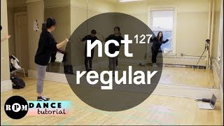 "NCT127 ""Regular"" Dance Tutorial (Chorus)"
