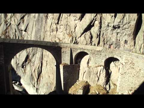 Gotthard, Teufelsbrücke, Tremola