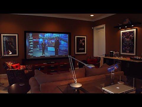 My Dream DIY Home Theater/Media Room - YouTube