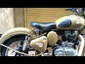 How to remove Royal Enfield Classic 350/500 rear seat ?
