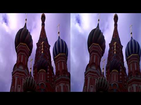 Punainen tori - The Red Square, Moscow 3D