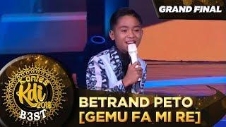 Lincah BGT Penampilan Betrand Peto [GEMU FA MI RE] - Grand Final KDI 2019 (18/10)