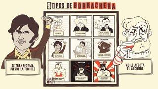 9 Tipos de Borrachera