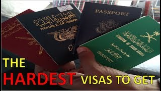 THE HARDEST VISAS TO GET - after getting them all