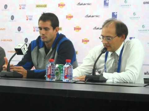Tennis АТР Tour «St. Petersburg Open - 2013» Гильермо ГАРСИЯ-ЛОПЕС (Испания) (2013-09-21)