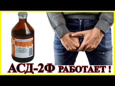АСД-2Ф в лечении простатита.