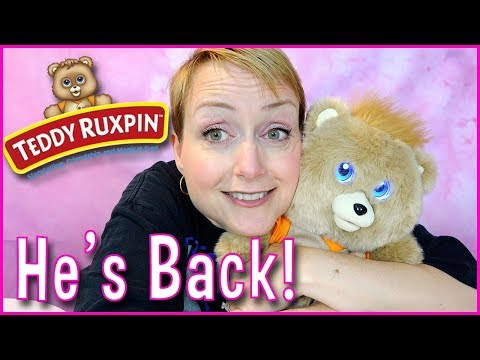 TEDDY RUXPIN IS BACK!! Review of One of the Hottest Toys for 2017