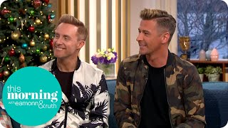 Dancing on Ice's First Same Sex Couple Discuss Their Hopes for The Show | This Morning