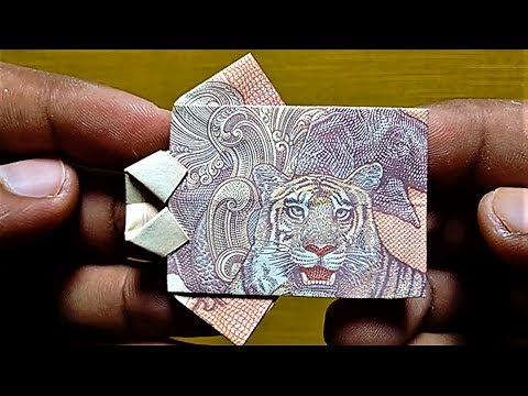 """HOW TO MAKE """" SIMPLE SHIRT 👕 """" With 10 Rupees EASY Note ORIGAMI 