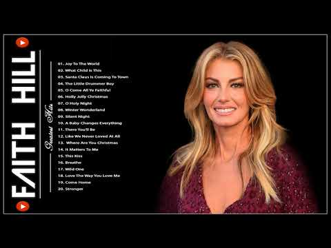 Faith Hill Best Songs Collection | Best Christmas Songs Full Album