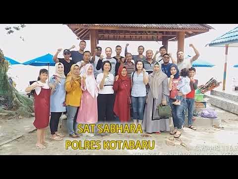 Kasat Sabhara Polres Kotabaru Bersama Anggota dan Keluarga Mendeklarasikan ANTI HOAX