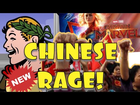 OMG NO!! CHINESE MOVIEGOERS DISGUSTED BY CAPTAIN MARVEL!!
