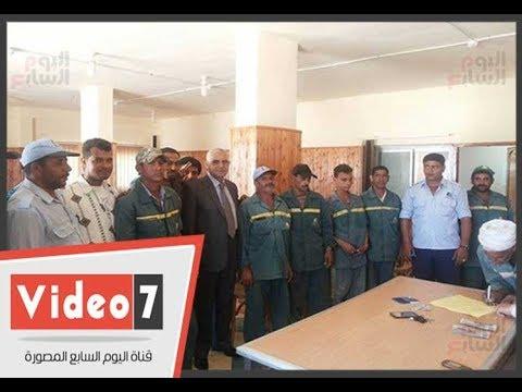 صرف إعانات مالية عاجلة من صندوق الإغاثة بشمال سيناء للمضارين من الحرب على الإرهاب  - 21:23-2018 / 5 / 15