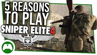 5 Reasons Sniper Elite 4 Is The Best Sniping Game In Years Youtube